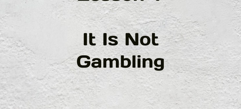 Rich Dad Poor Dad | S5 – E32 | Lesson V | It Is Not Gambling