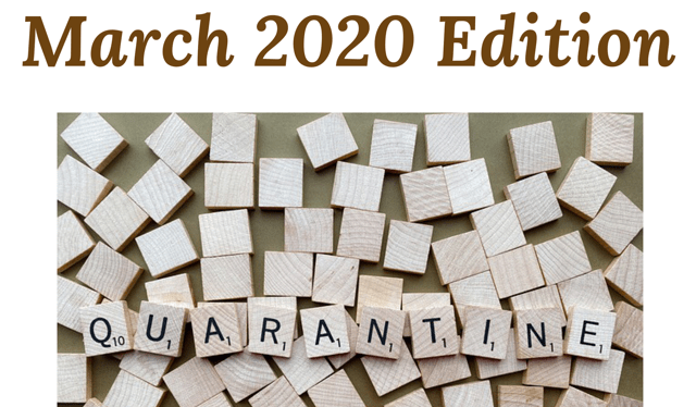 Wheel of Life: March 2020 Edition – Quarantine
