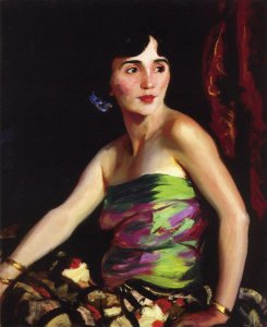Isolina Maldonado, Spanish Dancer By Robert Henri