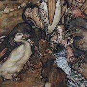 Mary Shea, Age 17, Watercolor
