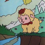 State Fair Winner! Maggie Enestvedt, Age 7 Acrylic