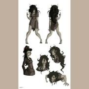 Lilliah Baker, Instructor, Character Designs