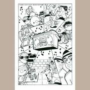 "Matt Wendt, Instructor, Comic Page to ""Peep"""