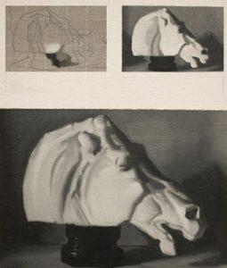 Oil Study - Horse