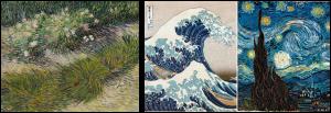 Vincent Van Gogh and Katsushita Hokusai