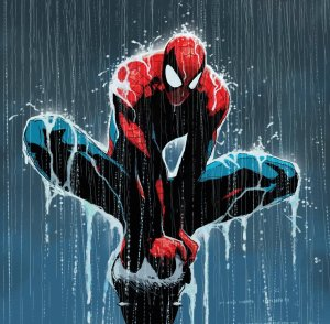 Spiderman, by John Romita Jr