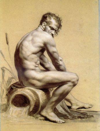 Pierre Paul Prud'hon, Male Nude