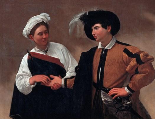 Fortune Teller by Caravaggio