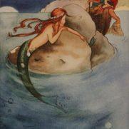 Clara Stein, Age 15, Watercolor