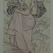 Sarah Wilson, Age 17, Watercolor