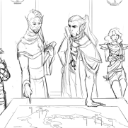 Lilliah Campagna, Instructor, Elfen Meeting, Digital Drawing