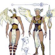 Mick Kaufer, Instructor, Winged Warrior, Digital Costume Design