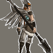 Mick Kaufer, Instructor, Valkyrie, Age 19, Digital Character Design