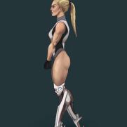 Mick Kaufer, Instructor, Cyborg Woman, Age 20, Digital Character Design