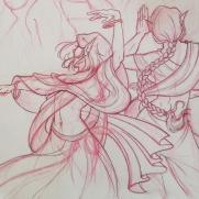 Lilliah Campagna, Instructor, Dance, Digital Redline Drawing