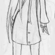 Sara Guneratne, Age 13, Pencil Sketchbook Character and Costume Concept Drawing