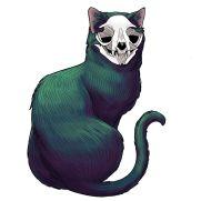 Mick Kaufer, Instructor, Skull Cat, Digital Painting