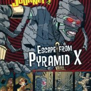 Matt Wendt, Guest Instructor, Twisted Journeys - Escape from Pyramid X, Book Cover