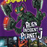 Matt Wendt, Guest Instructor, Twisted Journeys - Escape Alien Incident on Planet J, Book Cover