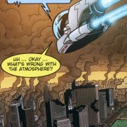Matt Wendt, Guest Instructor, Twisted Journey - Escape Alien Incident on Planet J Comicbook Page, Digital Art