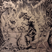 Bill Hauser, Instructor, SEISMA Front CD Cover, Ink and Photoshop