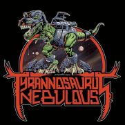 Bill Hauser, Instructor, Tyrannosaurus Nebulous LP/CD Cover, Ink and Photoshop
