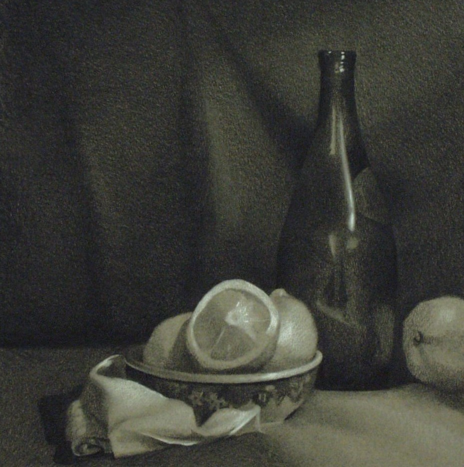 Lemon & Bottle, Charcoal