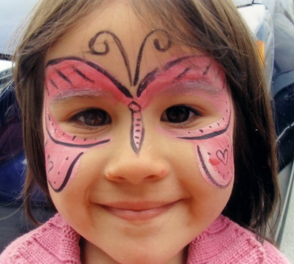 FACE PAINTING by The Art Angel