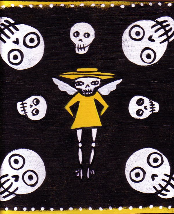 ANGEL OF DEATH & SKULLS by Bethann Shannon