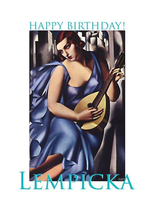 Painting by Tamara Lempicka