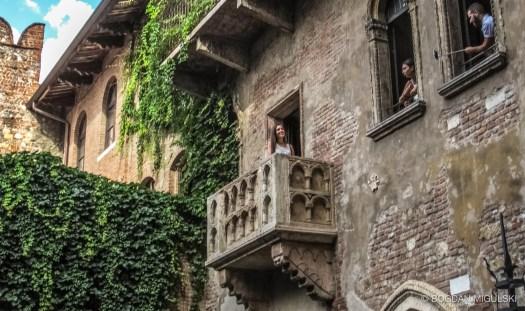 Juliet's House in Verona, Italy.