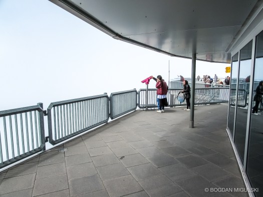 Schilthorn observation deck.