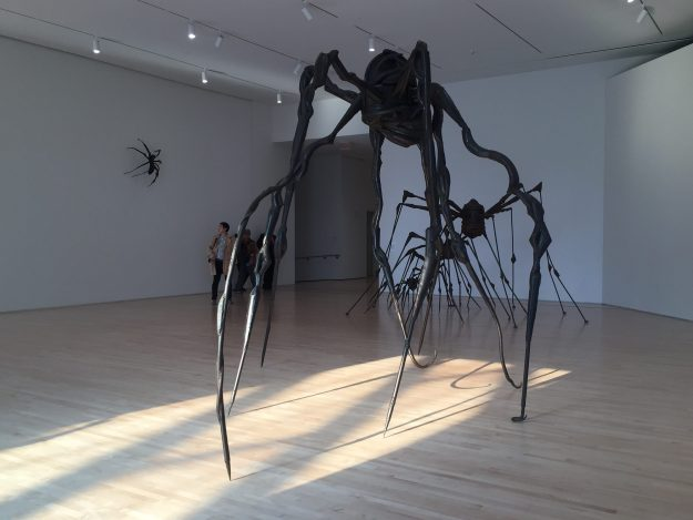 Spiders, Louise Bourgeois, SFMoMA 2017, T. Vatrt image
