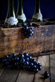 Bottles Crate Grapes 4