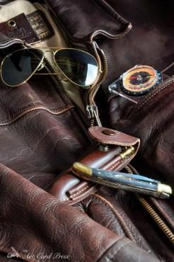Leather jacket and kit 1