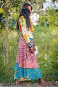 Sari Skirt