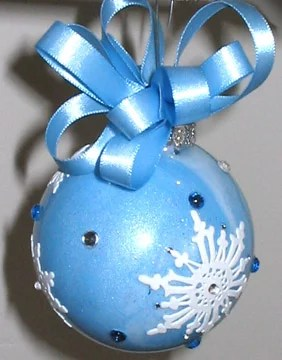 Snowflake Christmas Ornament The Artful Crafter