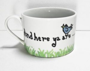 Oil Paint Markers Baked On Ceramic Mug The Artful Crafter