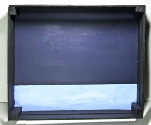 Baby Shadow Box: Painting Waves