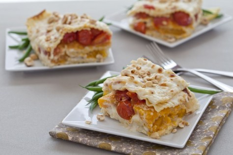 Butternut Squash Lasagna - The Works Catering