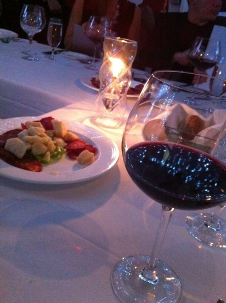 Antipasti and Wine
