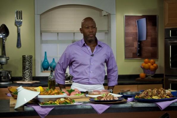 Chef Madison Cowan on Set