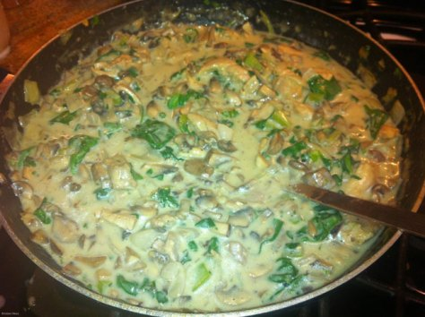 Chicken-Mushroom-Spinach
