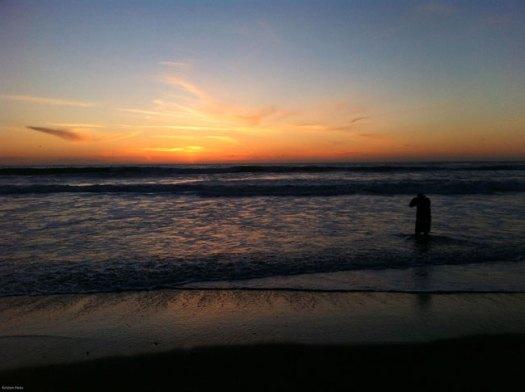 Dusk, Mission Beach San Diego