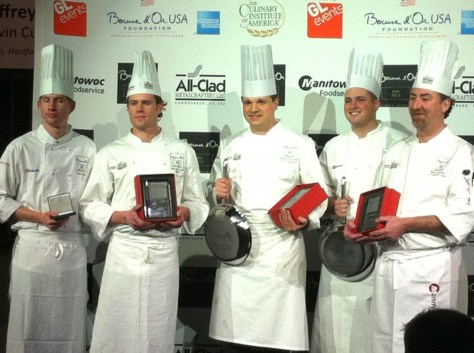 Bocuse D'Or Chef Competition at CIA, 2012