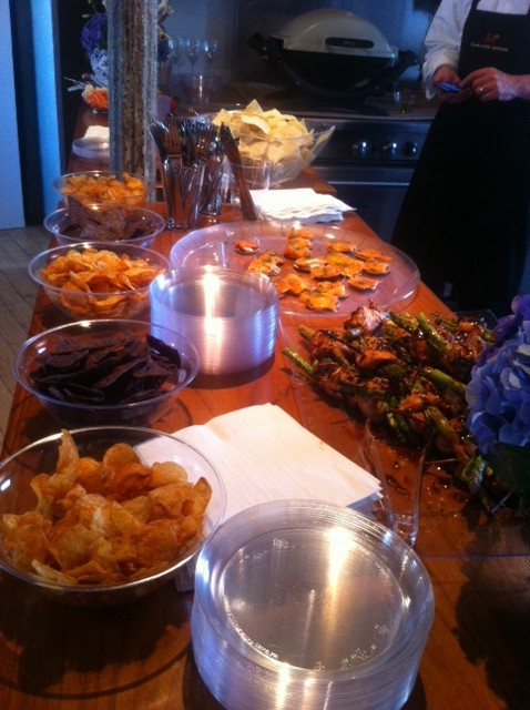 Food Spread at the Catering Event for VMP at The Flow Space