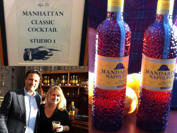 Mandarin Napolean at Manhattan Cocktail Classic