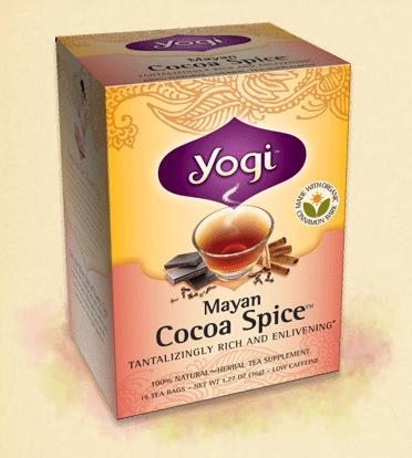 Yogi Mayan Cocoa Spice Tea