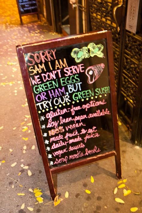 Beyond Sushi Sign