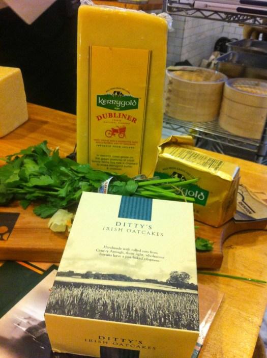 Ditty's Irish Oatcakes & Dubliner Irish Cheese
